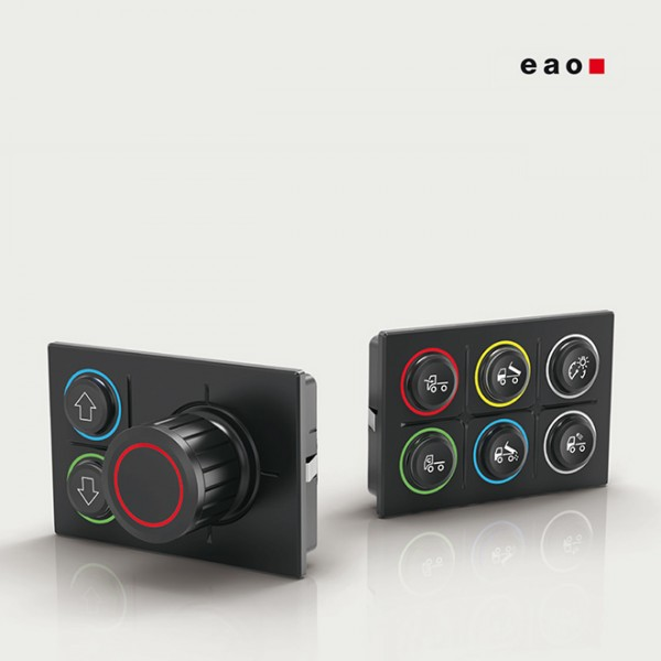 EAO Series 09 Rugged CAN Keypads
