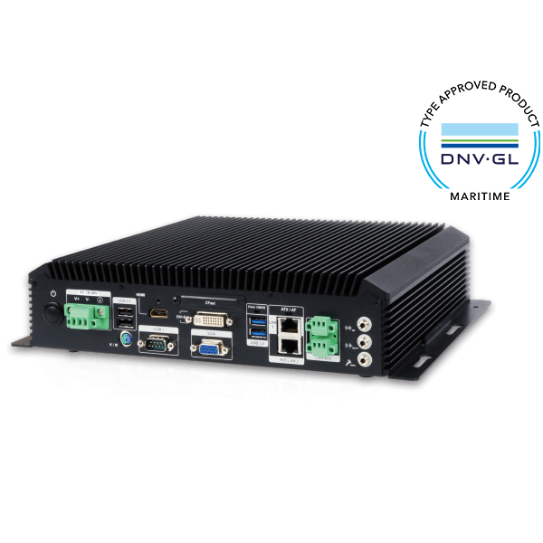 IEC 60945 Certified Fanless Computer with 4th Generation Intel® Core™ i5 dual-core processor