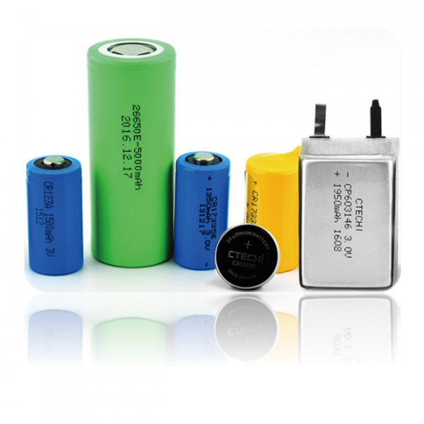 CR battery, lithium manganese dioxide